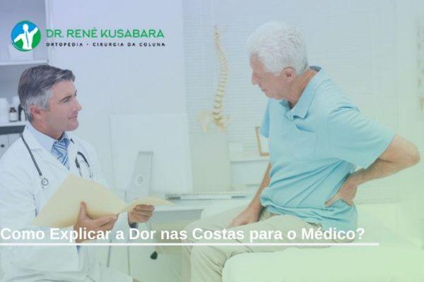 Como Explicar a Dor nas Costas para o Médico?