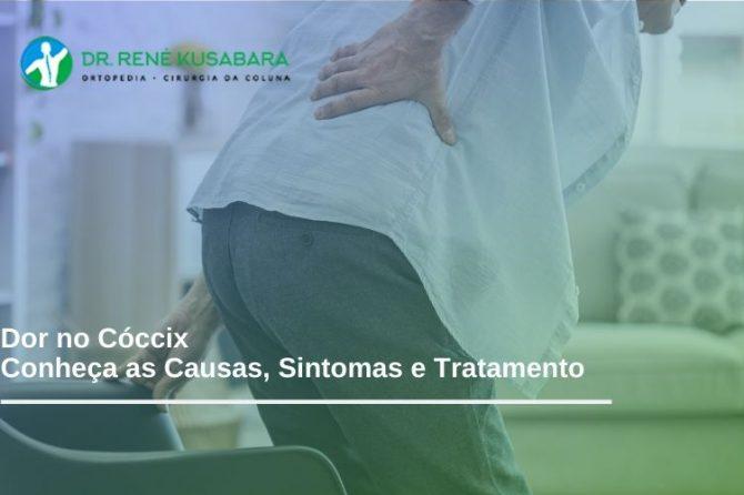 Dor no Cóccix - Conheça as Causas, Sintomas e Tratamento