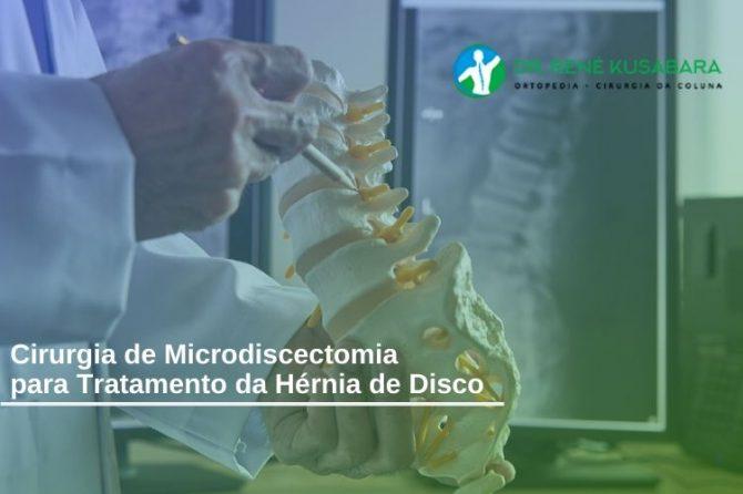 Cirurgia de Microdiscectomia para Tratamento da Hérnia de Disco