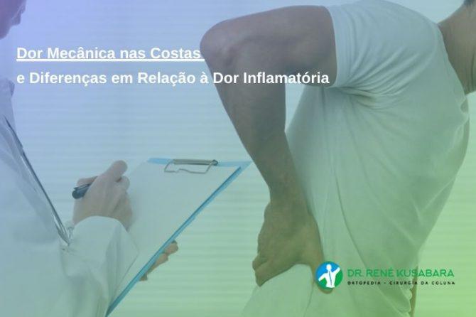 Dor Mecânica nas Costas e Diferenças em Relação à Dor Inflamatória